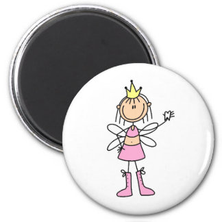 Tooth Fairy With A Lost Tooth Magnet