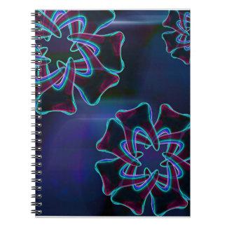 Tooth Flower Design Dentist Orthodontist Notebook