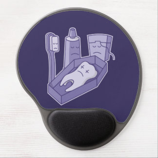 Tooth Funeral Gel Mouse Pad