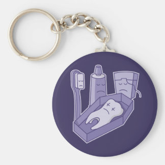 Tooth Funeral Keychain