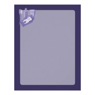 Tooth Funeral Letterhead
