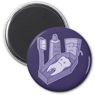 Tooth Funeral Magnet