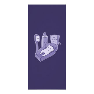 Tooth Funeral Personalized Rack Card