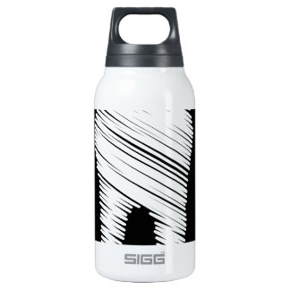 Tooth graphic 10 oz insulated SIGG thermos water bottle