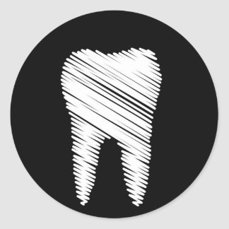 Graphic Tooth Stickers   Zazzle