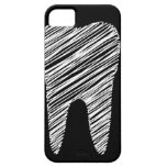 Tooth graphic for dentist iPhone SE/5/5s case