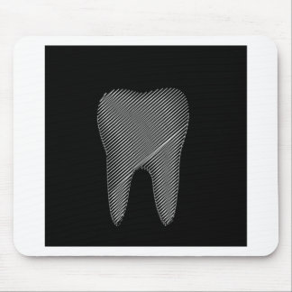 Tooth graphic for dentist mouse pad