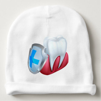 Tooth Gum Shield Concept Baby Beanie