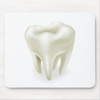 Tooth illustration mouse pad