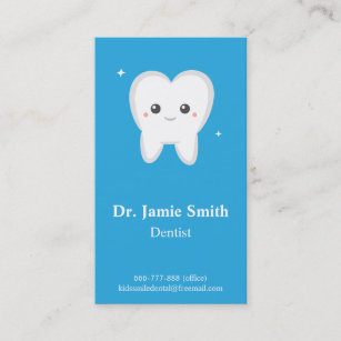tooth kids dental business and appointment cards - Dental Appointment Cards