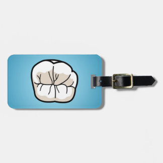Tooth Luggage Tags
