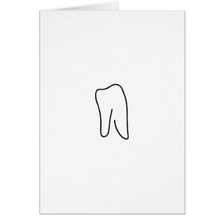 Tooth molar dentist Karies Card