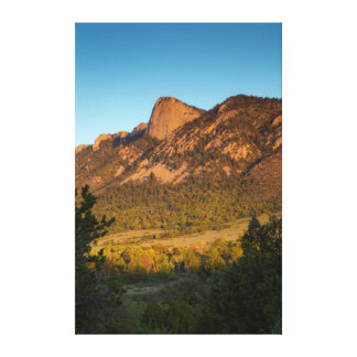 Tooth Of Time, Philmont Scout Ranch, Cimarron Canvas Print