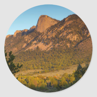 Tooth Of Time, Philmont Scout Ranch, Cimarron Classic Round Sticker