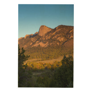 Tooth Of Time, Philmont Scout Ranch, Cimarron Wood Wall Decor