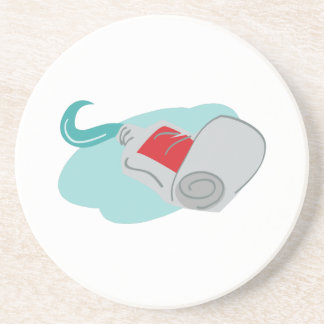 Tooth Paste Beverage Coaster