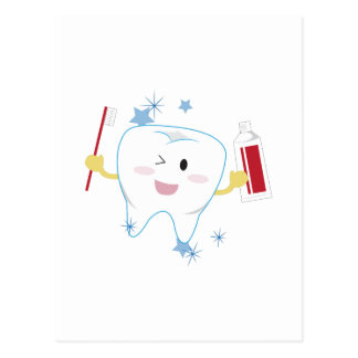 Tooth & Paste Postcard