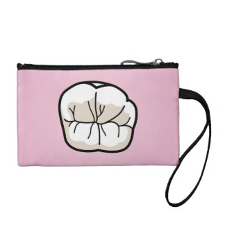 Tooth [PINK] Clutch Change Purse