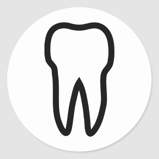 tooth sticker