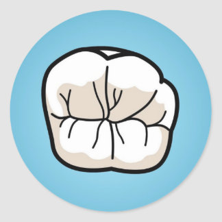 Tooth Sticker [Blue]