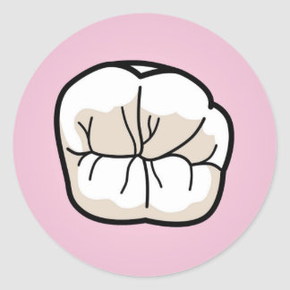 Tooth Sticker [Pink]