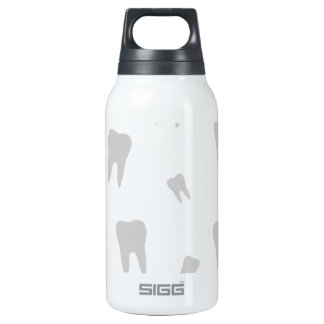 Tooth wallpaper for dentist 10 oz insulated SIGG thermos water bottle