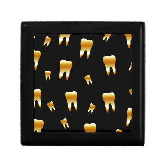 Tooth wallpaper for dentist gift box