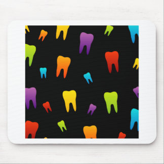 Tooth wallpaper for dentist mouse pad