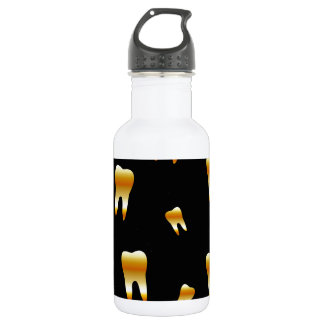 Tooth wallpaper for dentist water bottle