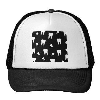 Tooth wallpaper trucker hat