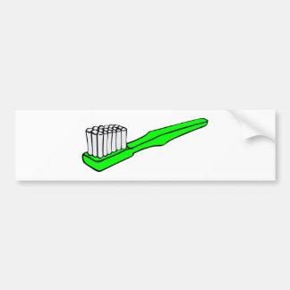 toothbrush-3113 car bumper sticker