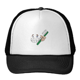 TOOTHBRUSH AND SMILE HAT