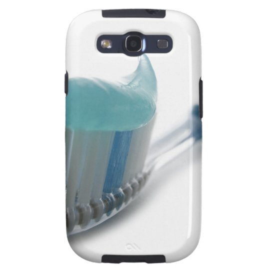 Toothbrush and toothpaste galaxy SIII cover