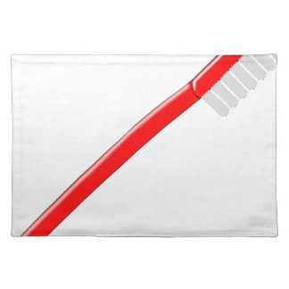Toothbrush Cloth Placemat