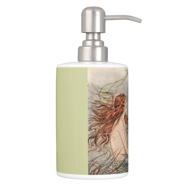 Toothbrush Holder And Soap Dispenser Set Zazzle Toothbrush And Soap Coloring