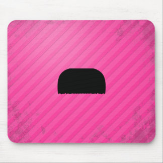 Toothbrush Mustache Mouse Pad