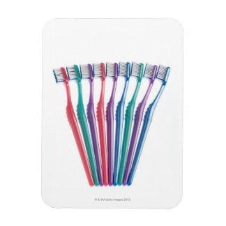 Toothbrushes Rectangular Photo Magnet