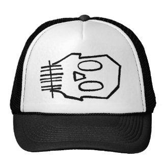 Toothee Mc Skull Trucker Hat