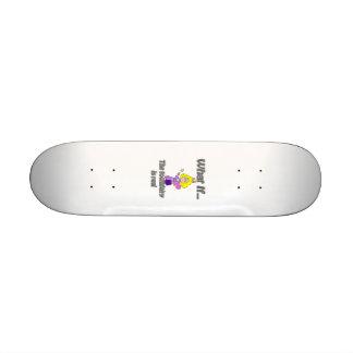 toothfairy custom skateboard