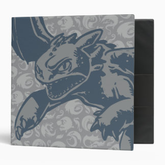 Toothless Character Art 3 Ring Binder