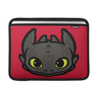 Toothless Head Icon MacBook Air Sleeves