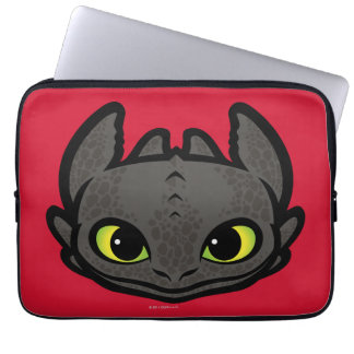 Toothless Head Icon Laptop Computer Sleeves