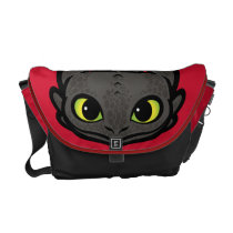 Toothless Head Icon Messenger Bag