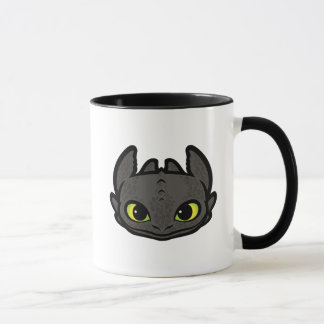 Toothless Head Icon Mug