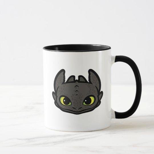 Toothless Head Icon Mug