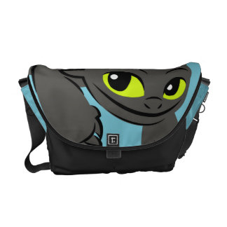 Toothless Illustration 01 Courier Bag