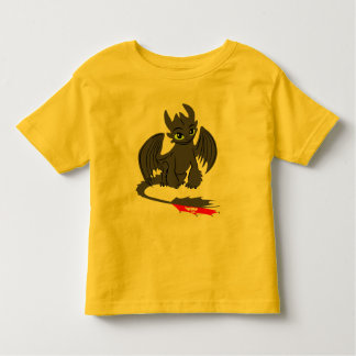 Toothless Illustration 02 Toddler T-shirt