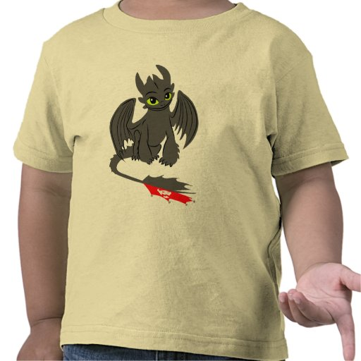 Toothless Illustration 02 Shirt