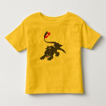 Toothless Illustration 03 Toddler T-shirt by howtotrainyourdragon at Zazzle