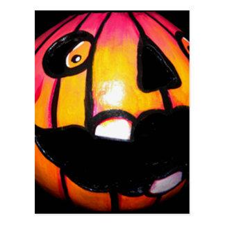 Toothless Pumpkin Postcard
